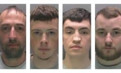 Four men jailed for total of 16 years for stealing hospital gas cannisters
