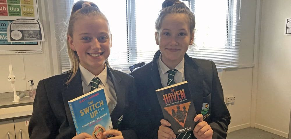 Aycliffe students get BookBuzz about reading