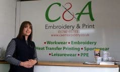 First class embroidery and printing firm set for growth