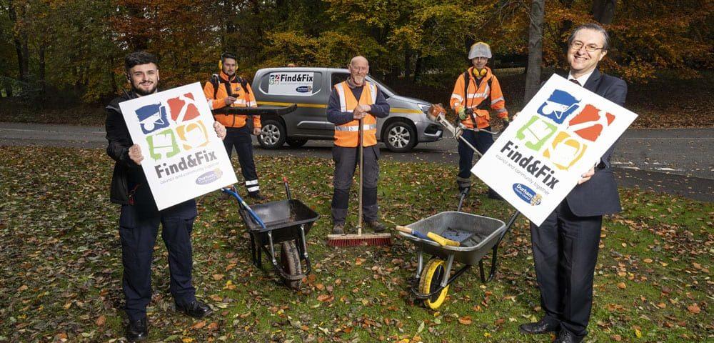 Making County Durham communities cleaner and greener