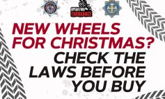 Check laws before buying new wheels for Christmas
