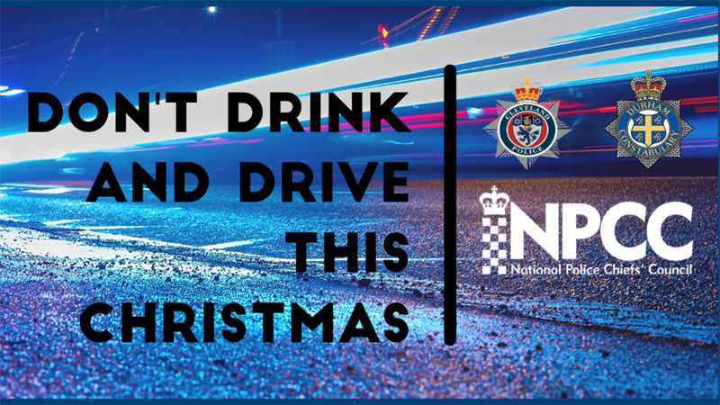 Police launch Christmas drink driving campaign