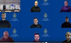 Police officers sworn in online