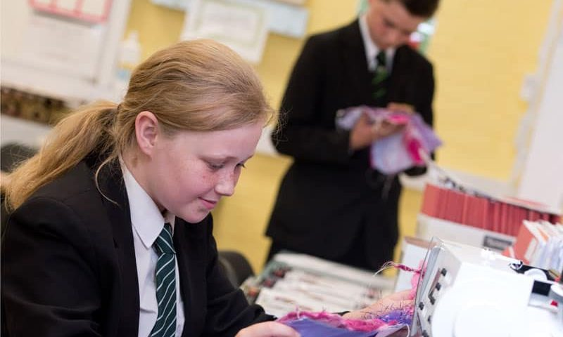 Aycliffe students quick to ensure smooth return to school