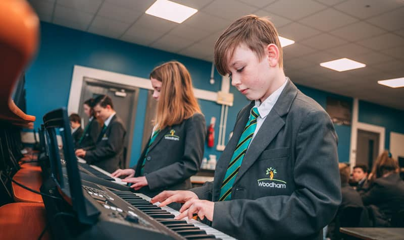 Further improvements at Woodham Academy takes investment to £1m