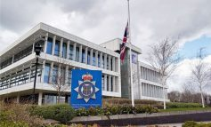 Police flags at halfmast for Prince Philip