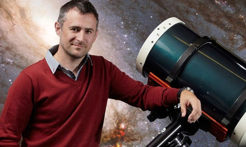 BBC presenter talks space to Aycliffe primary students