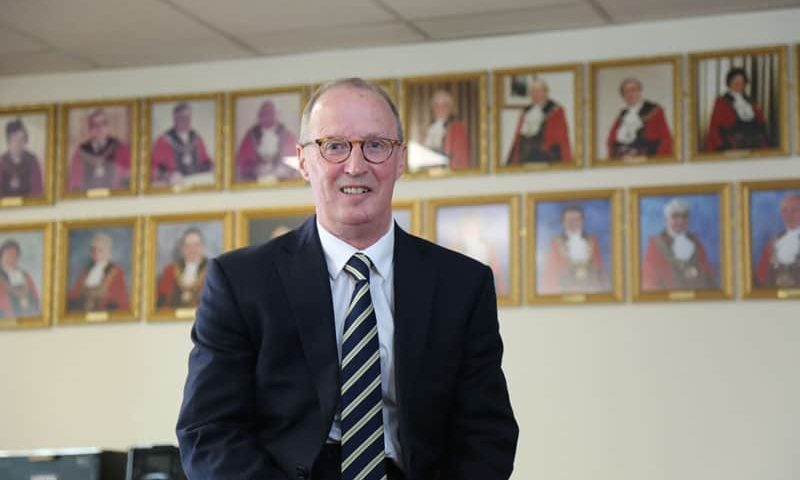 End of an era as Aycliffe town clerk retires