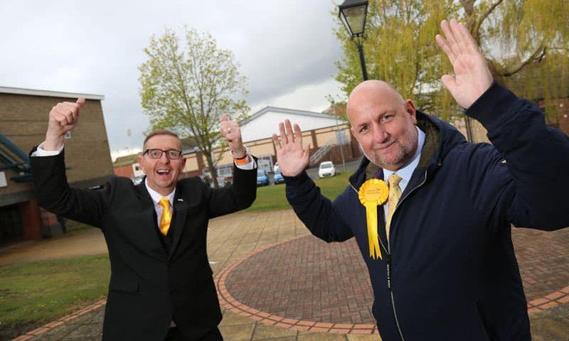 Lib Dem pair stun Labour with big wins in Aycliffe