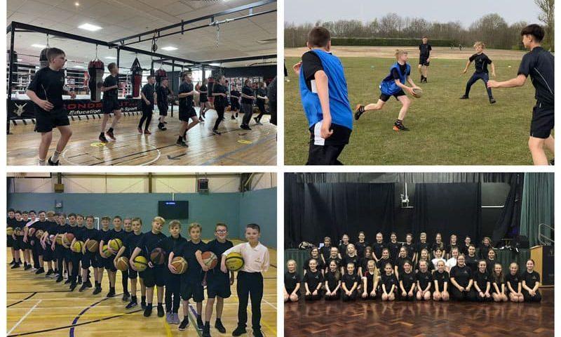 Students enjoy extra-curricular sports at Woodham