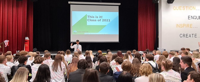 Class of 2021 take next steps