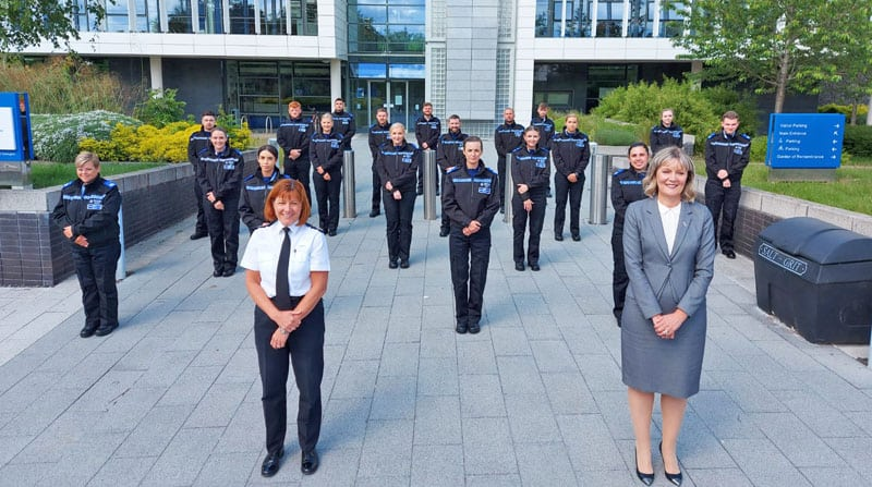 Force welcomes 19 new PCSOs