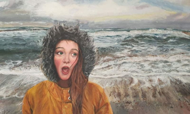 Former Aycliffe pupil Alivia Hoy is crowned North East 'Artist of the Year' 2021