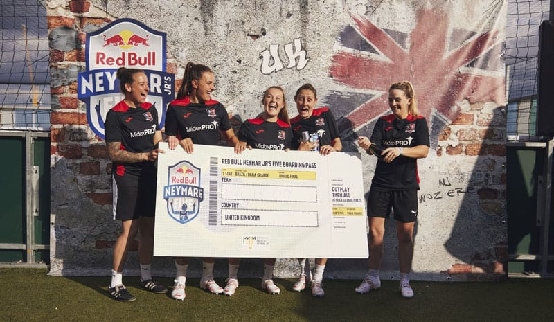 Aycliffe firm scores with deal to work for Red Bull and Brazilian star Neymar Jr