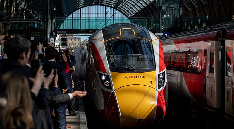 Date set for new Aycliffe-built Azuma direct Middlesbrough-London services