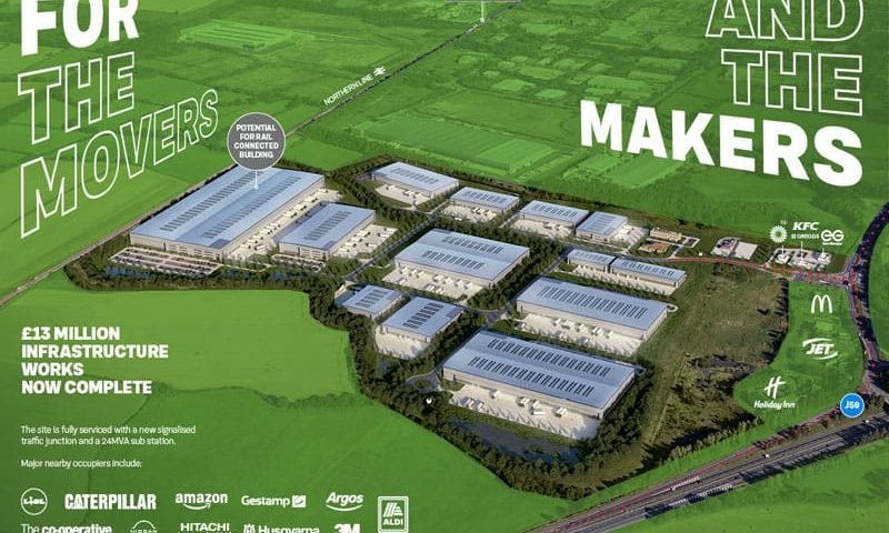 Exclusive: Forrest Park plans are full steam ahead after £13m infrastructure works completed