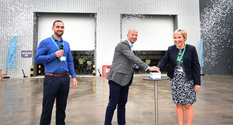 Production under way at new modular housebuilding factory