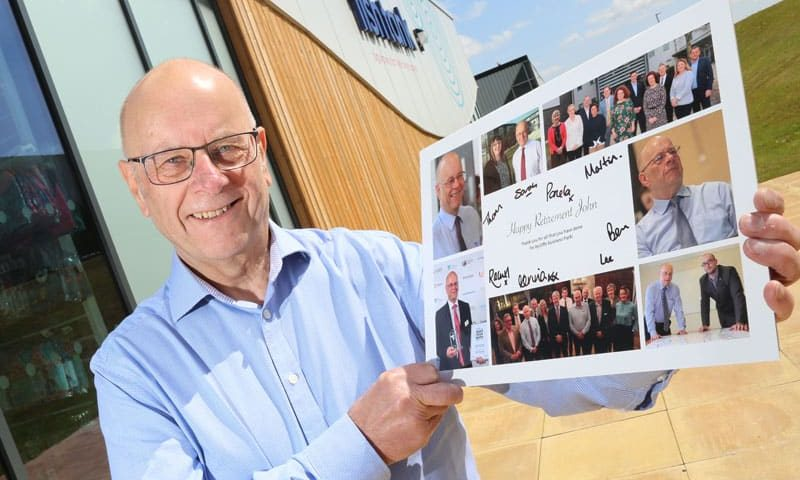 Aycliffe Business Park Ambassador calls time with retirement