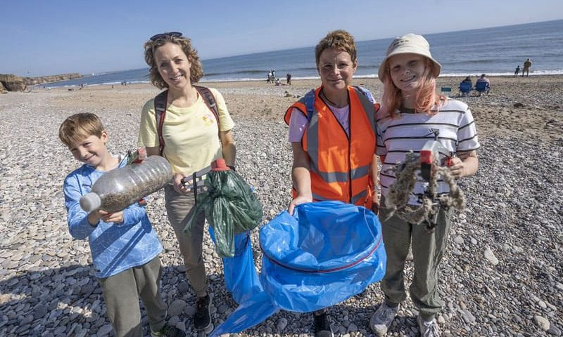 Supporting tidy shores in County Durham