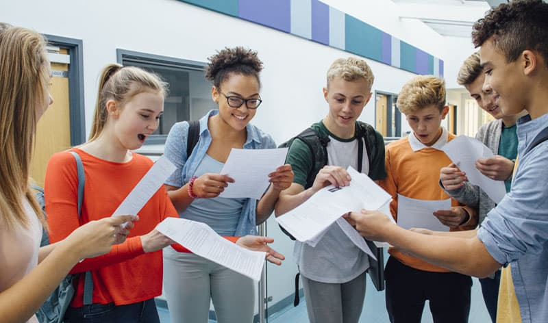 County Durham A level students praised for their resilience