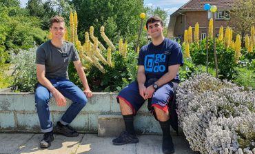 Aycliffe community garden 'digs' a helping hand from Utah missionaries