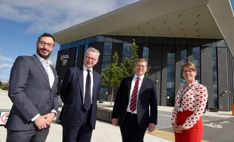 Bioscience centre demonstrates vital role of universities in Levelling Up