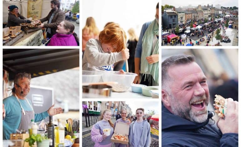 Food lovers try a taste of everything at Bishop Auckland Food Festival