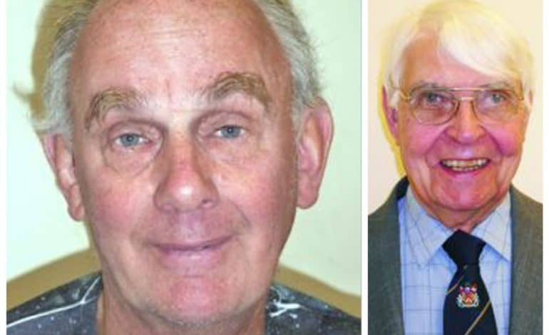 Tributes paid after town loses two councillors