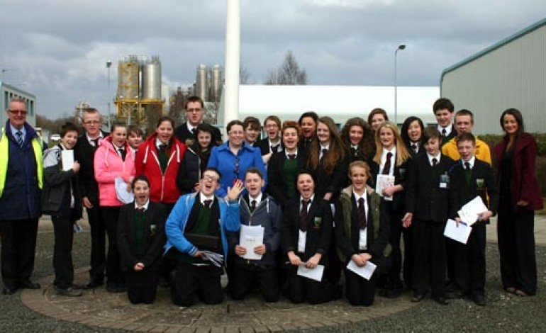 GREENFIELD PUPILS VISIT INEOS