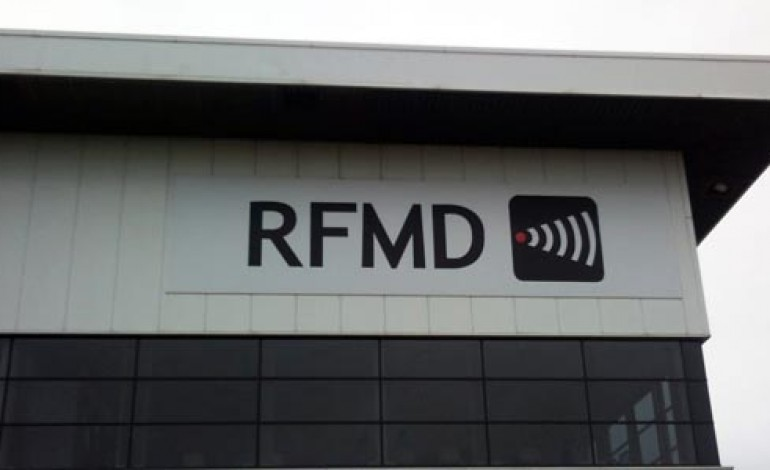 RFMD TO CLOSE AYCLIFFE FACILITY