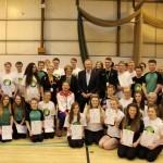 Tony Blair visits Woodham Academy Nov 2014 12