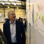 Tony Blair visits Woodham Academy Nov 2014 2