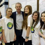 Tony Blair visits Woodham Academy Nov 2014 3