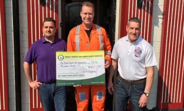 AYCLIFFE POWER FIRM REPLACES CHARITY COFFERS