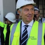 Tony Blair visits Aycliffe 7 April 2015 11