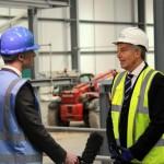 Tony Blair visits Aycliffe 7 April 2015 16