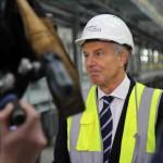 Tony Blair visits Aycliffe 7 April 2015 17