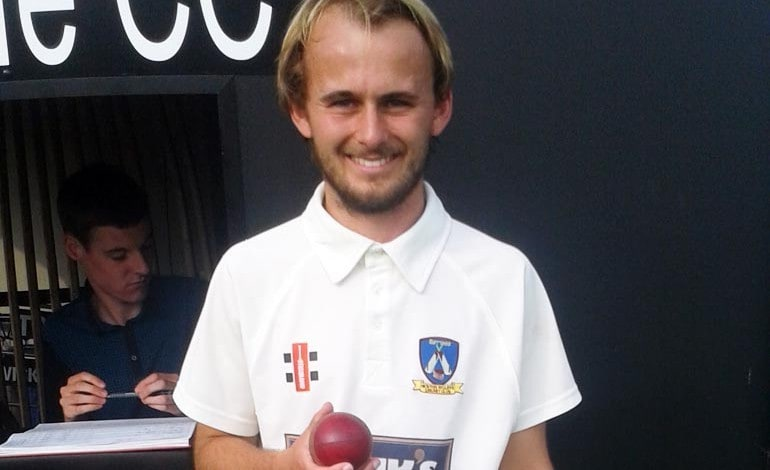 Record 10-wicket haul for Aycliffe bowler Jack