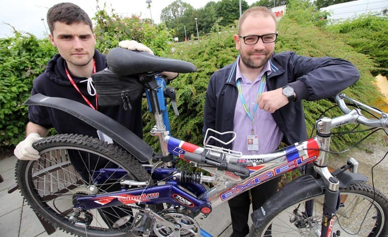 Dr Bike and Op Spoke at 3M