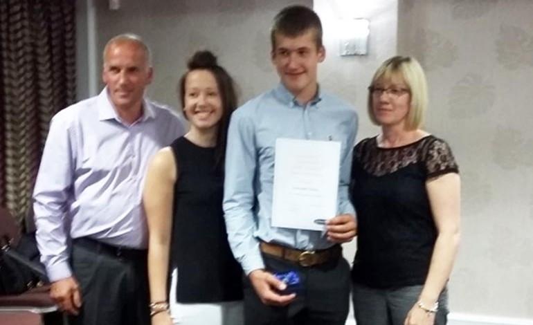 Aycliffe student gains 100% attendance award