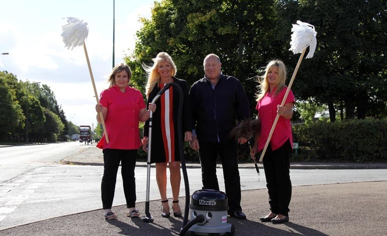 Aycliffe cleaning company looks for future growth as it celebrates 10 years in business