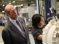 Picture Gallery: Duke of Kent visits Ebac