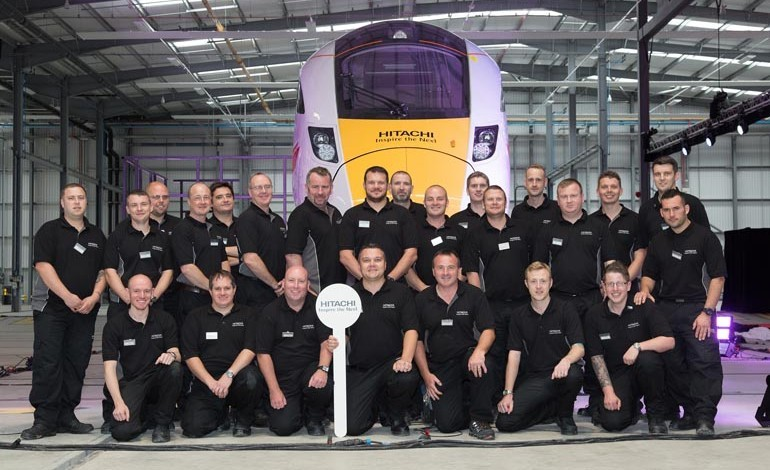 Production officially starts on first Hitachi carriages