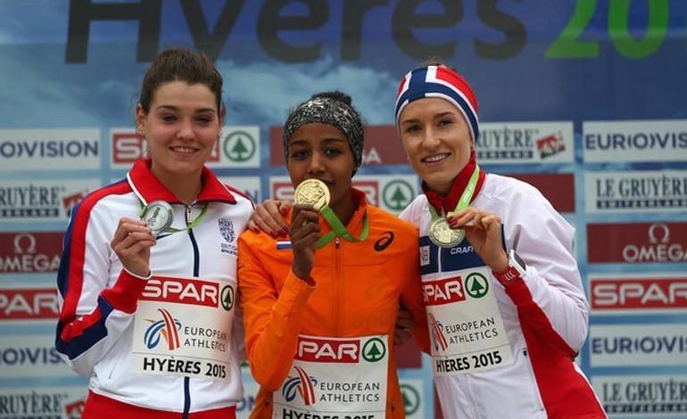 Newtonian Kate wins silver in European Championships