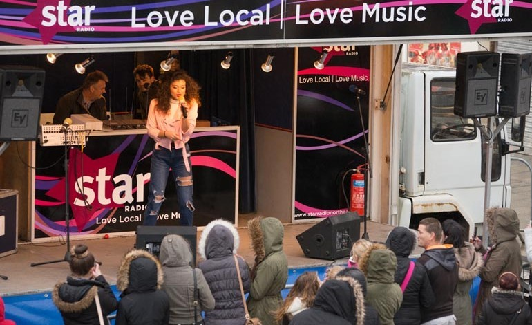 PICTURES: Aycliffe town centre Christmas party