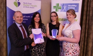 Aycliffe charity DISC strikes gold!