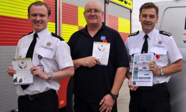 Fire service links up with Royal British Legion