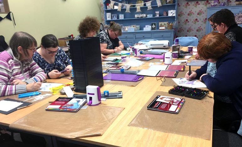 Crafters raise £1,750 for mental health charity