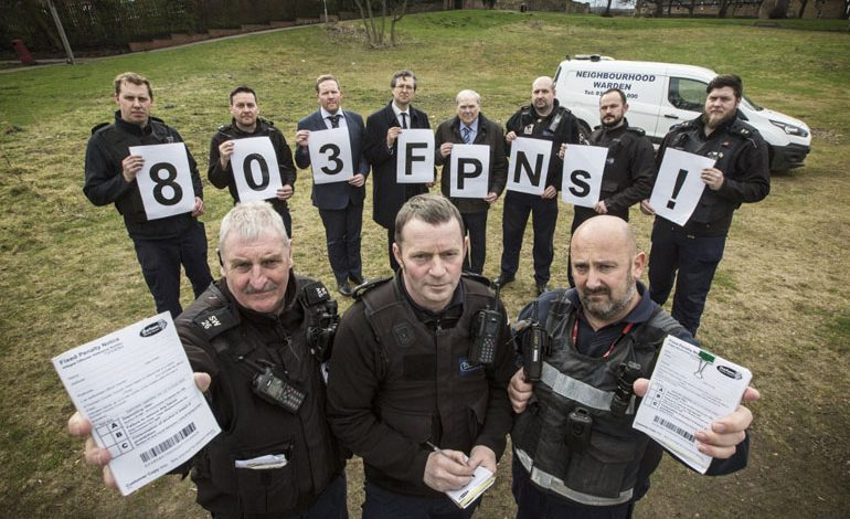 Wardens hand out more than 800 fines for enviro crimes