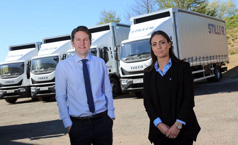 Distribution firm Stiller invests £280k in new ultra-safe trucks